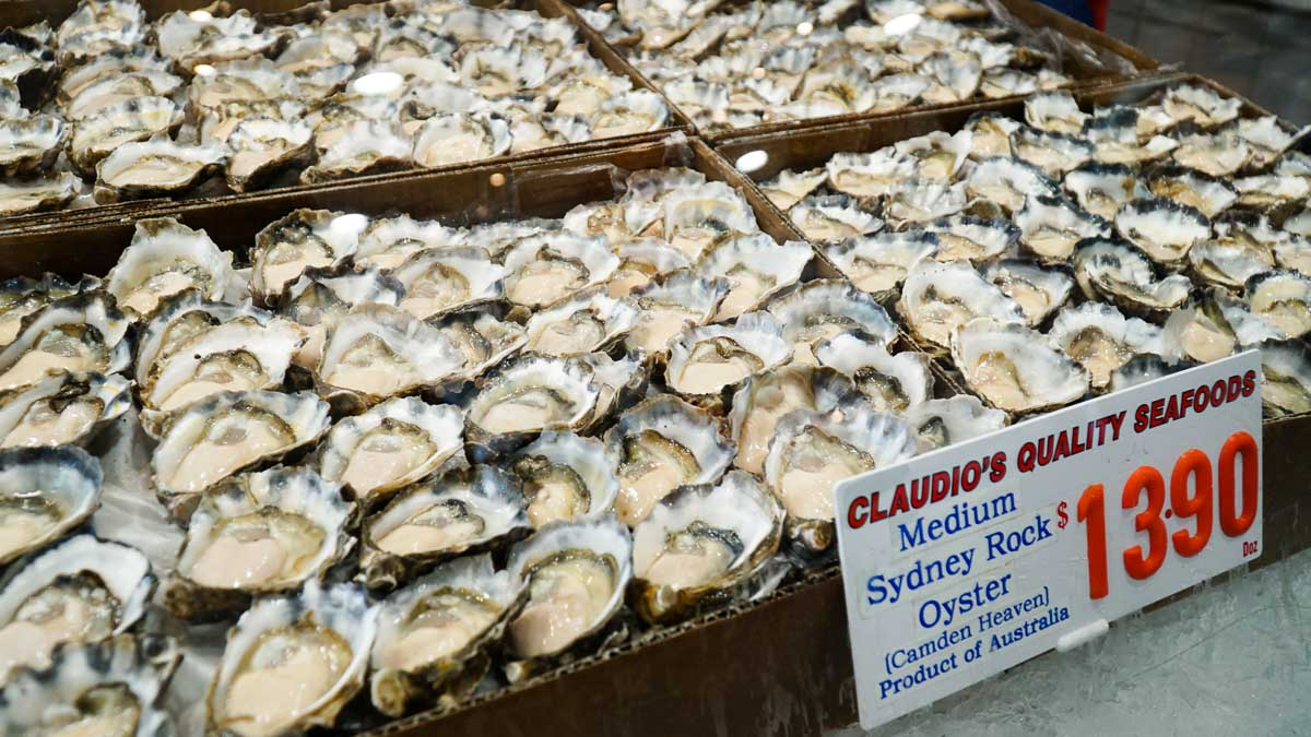 guide to pyrmont fish market