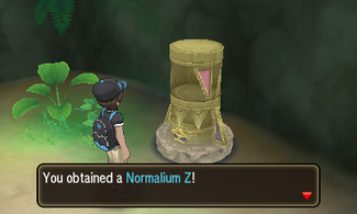 forest lush pokemon moon trial guide