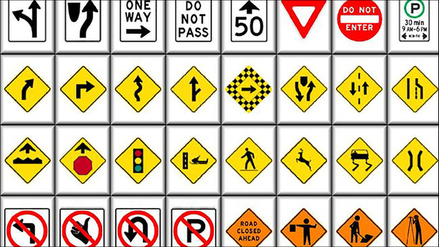 florida permit road signs study guide