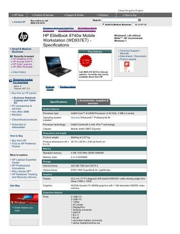 hp z210 cmt workstation maintenance and service guide