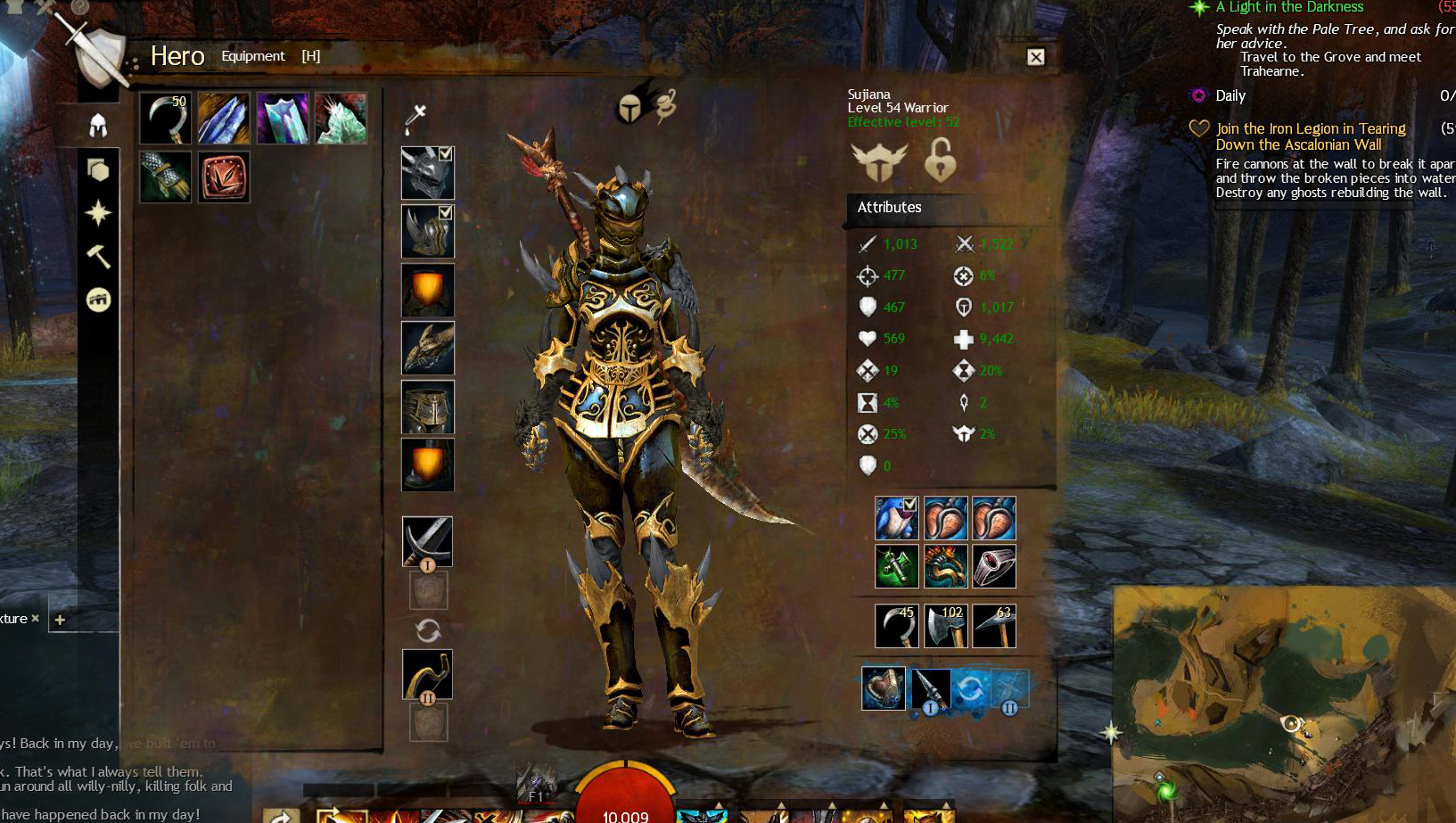 guild wars 2 character weapons guide