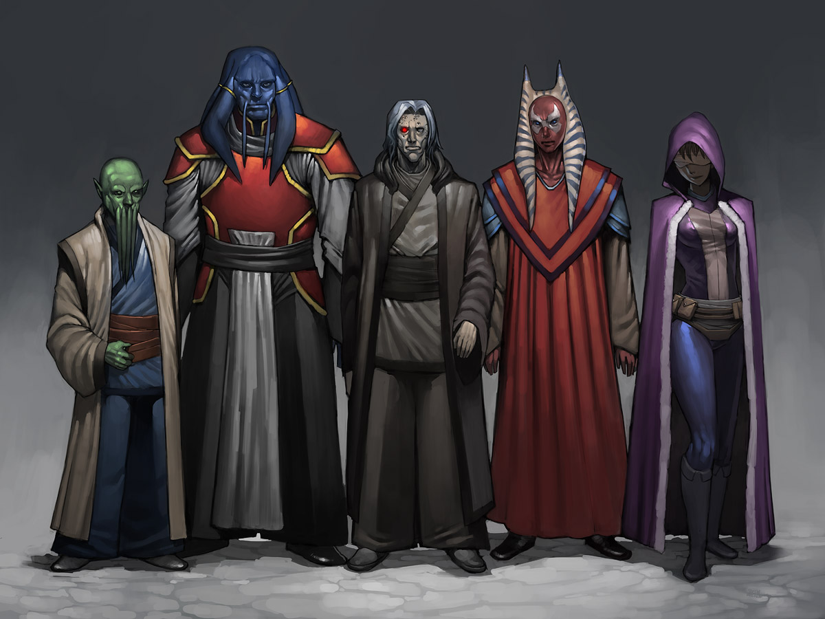 star wars knights of the old republic characters guide