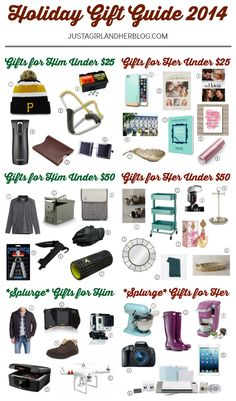 xmas gift guide for her 2017