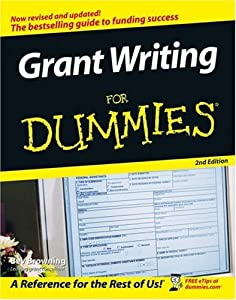 dummies guide to grant writing