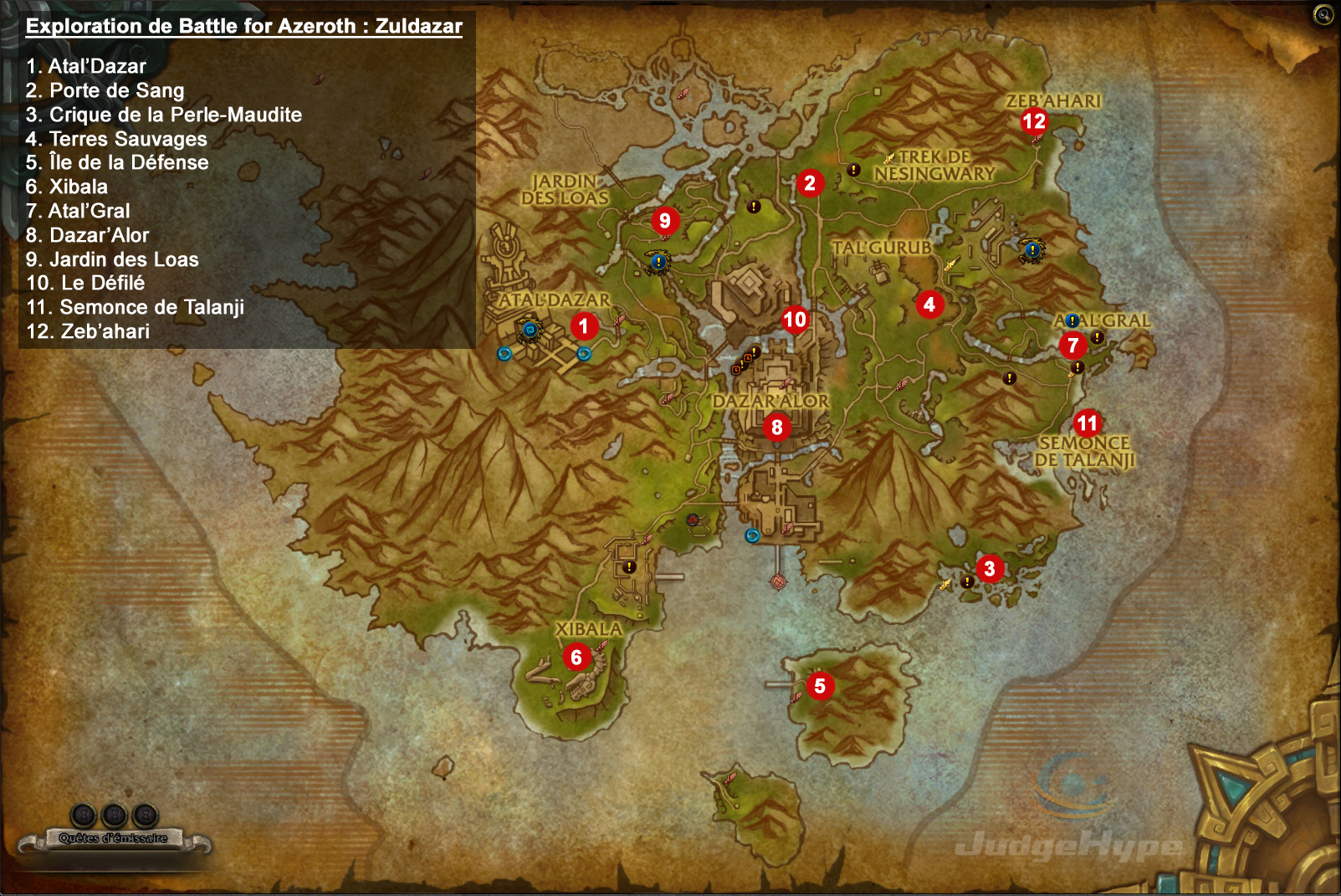 wow leveling guide 1-110 2018